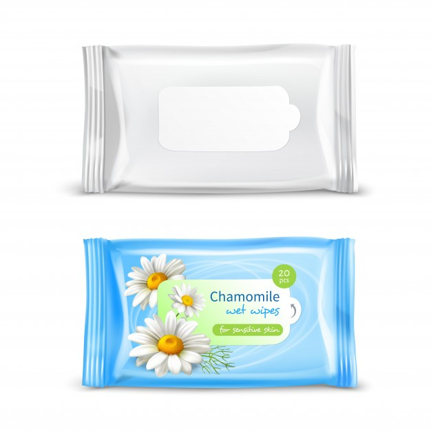 scented wet wipes