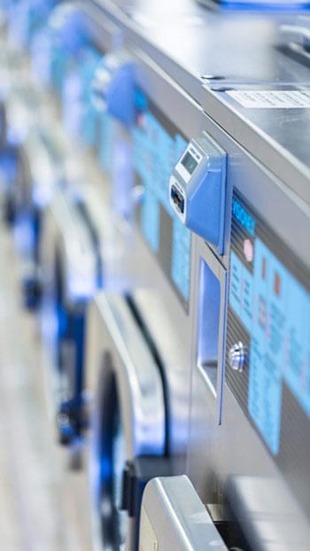 machines à laver industrielles