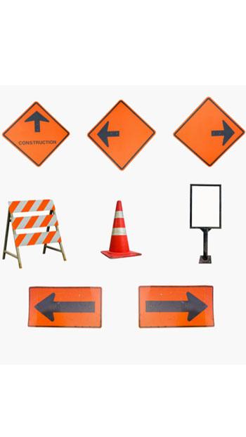 matériel de sécurité routière