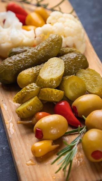 Olive & Pickles