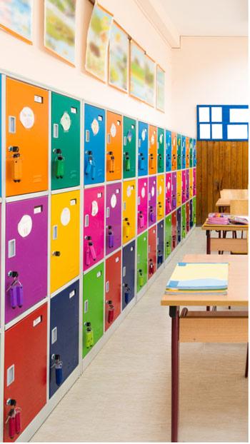 casiers scolaires