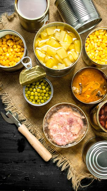 Canned / Tinned Food